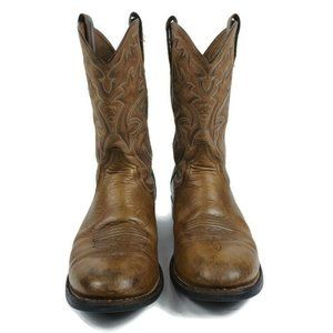Ariat Mens Cobalt Xr Pro 10D Embroidered Leather